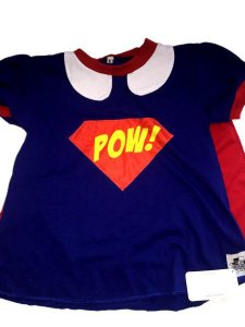 Camiseta com capa Super Girl