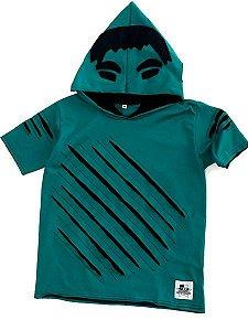 Camiseta com Capuz Hulk