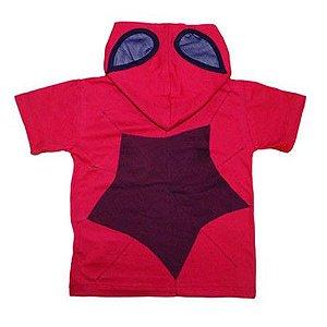 Camiseta com Capuz Homem Aranha