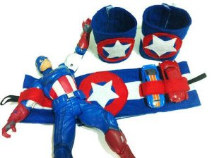 Cinto de Utilidades com Bracelete Capitão América