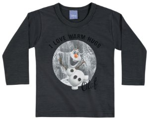 Camiseta Manga Longa Olaf