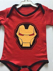 Body Homem de Ferro 6-12 meses