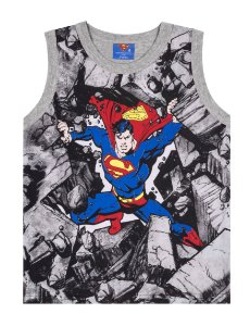 Camiseta Regata SuperMan