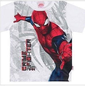 Camiseta Manga Curta Homem Aranha