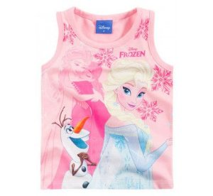 Camiseta Regata Frozen