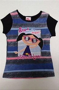 Camiseta Manga Curta Luna
