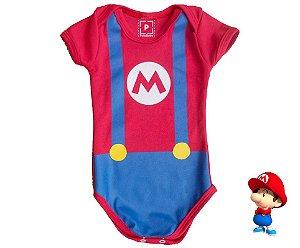 Body Mario 6-12 meses