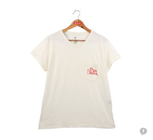 Camiseta Coza Linda Off White