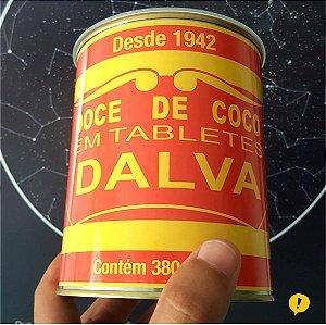 Lata Bala Dalva 380 gramas
