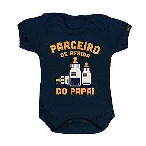 Body Bebê Parceiro do Papai