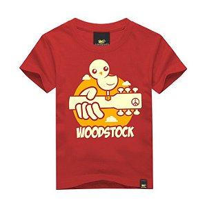Camiseta Infantil WoodStock