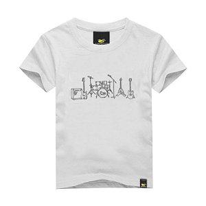 Camiseta Infantil Line Band