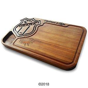 Tabua de carne em madeira, Ceará