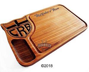 Tabua de carne em madeira, CRB