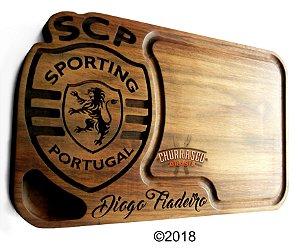 Tabua de carne em madeira, Sporting Portugal