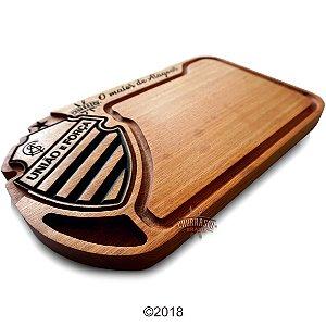 Tabua de carne em madeira, CSA Alagoas