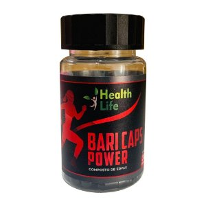 Baricaps Power Black 30 capsulas emagrecedoras