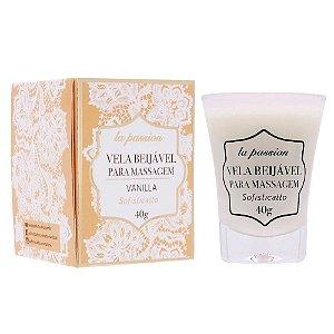 Vela de massagem beijável Vanilla 40g Sofisticatto