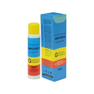 Lubrificante Aromático Amoxsex 18ml