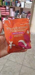 GRÁTIS - Preservativo Feminino - PARA VULVAS em Borracha Natural