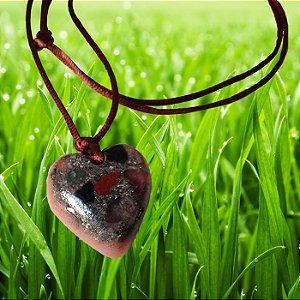 Pingente de energia coração