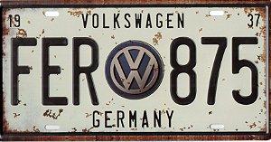 Placa VW