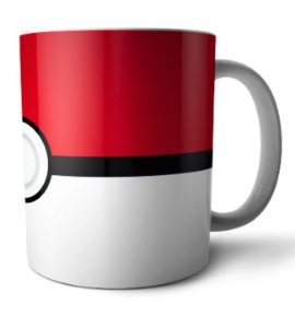 Caneca Pokebola Pokemon