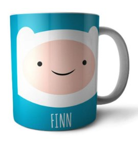 Caneca Hora da Aventura Finn