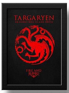 Pôster House Targaryen