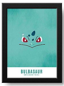 Pôster Bulbasaur Pokémon