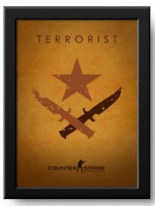 Poster Terrorist CSGO