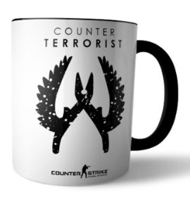 Caneca CT Counter Strike