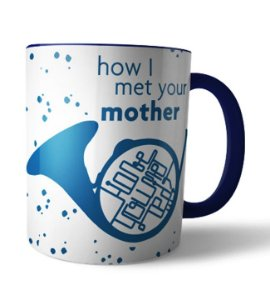 Caneca Trompa azul How i met your Mother