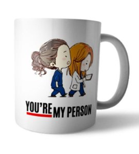 Caneca My Person Greys Anatomy