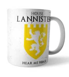 Caneca House Lannister GOT
