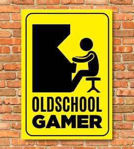 Placa Oldschool Gamer