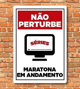 Placa Maratona em Andamento