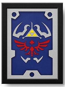 Pôster Escudo Link  Zelda
