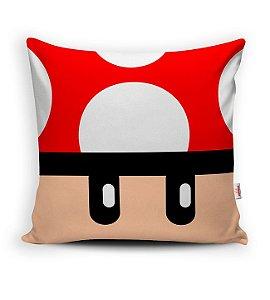 Almofada Mario Bros Cogumelo