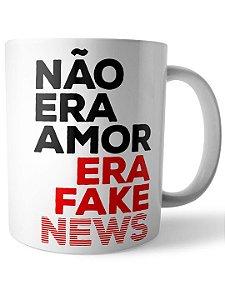 Caneca Fake News