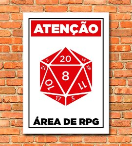 Placa Area de RPG