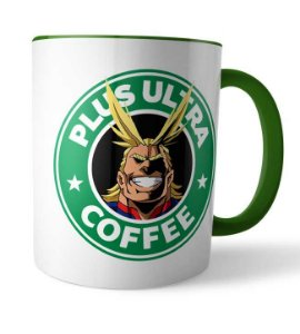Caneca Plus Ultra Coffee All Might