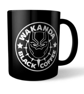Caneca Wakanda Black Coffee