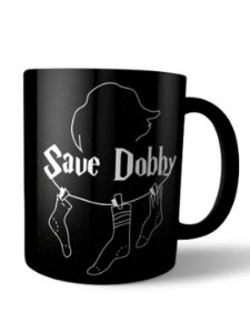 Caneca Save Dobby Harry Potter