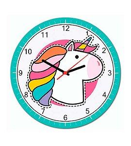 Relógio de Parede Unicórnio