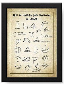 Pôster Movimentos de Varinha Harry Potter