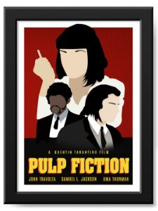Pôster Pulp Fiction