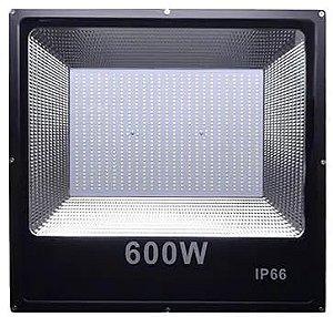 Refletor Holofote LED 600W SMD IP66 A prova D'Água Branco Frio 6000k