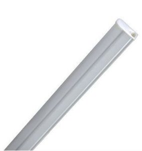 Lâmpada LED Tubular T5 9w - 60cm c/ Calha - Branco quente