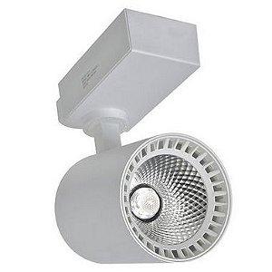 Spot 18W LED Branco para Trilho Eletrificado Branco Neutro 4000k